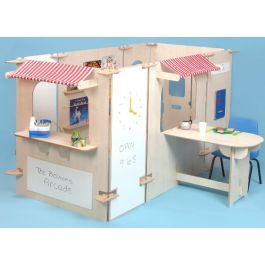 Arcade Role Play Pretend Play Panel Set - Maple