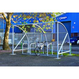 Dudley Galvanised Cycle Shelter