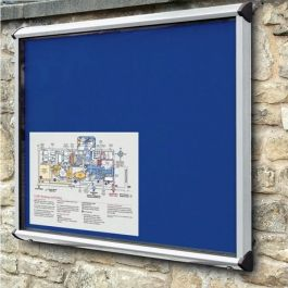 Shield Exterior Showcase Noticeboards