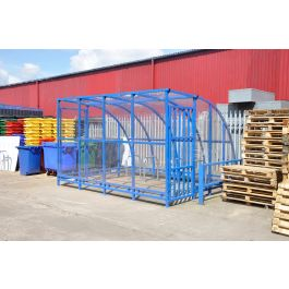 Kenilworth Porch Powder Coated Cycle Shelter