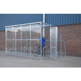 Kenilworth Galvanised Porch Cycle Shelter