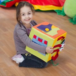Getting Ready Soft Play Activity Cube