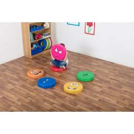 English Emotion Floor Cushions - Pack 1
