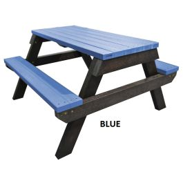 Recycled Plastic Outdoor Picnic Table - Spectrum