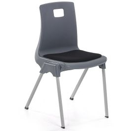 Metalliform ST Classroom Chair With Seat Pad