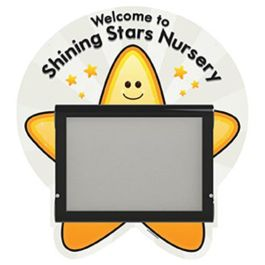 WeatherShield Outdoor Wall Mounted Star Welcome Sign