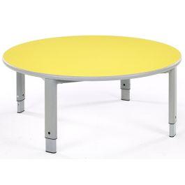 Metalliform Start Right Height Adjustable Circular Table