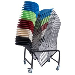 High Density Polypropylene Stacking Chair - Strike HD