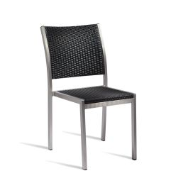 Sun Superior Quality Outdoor Wicker Weave Chair  - Black