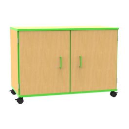 Edge Mobile Classroom Storage Cupboard