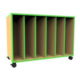 Edge Mobile Big Book Storage Unit