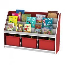 Thrifty Classroom Book Display with 3 Deep Trays