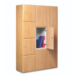 Timber Door Locker End Panels