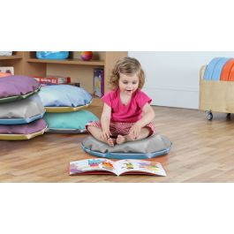 Story Floor Cushions -  Set of 10 Pastel Colours