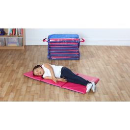 Snoozemat Silver Sleep Mats with FREE Holdall - Set of 6