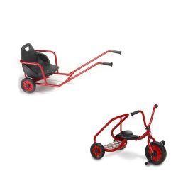 Winther Viking Rickshaw and Ben Hur Tricycle Bundle Deal