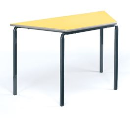 Trapezoidal Crushed Bent Classroom Table