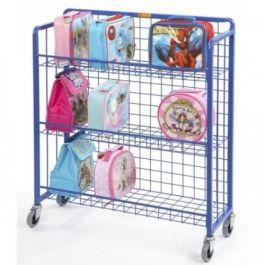 Sturdy 4 Wheel Lunch Box Trolley