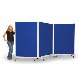 Tri Screen Mobile Presentation Screens & Room Divider