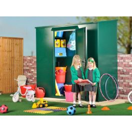 Asgard School Tall Secure Outdoor Metal Storage Pack 6