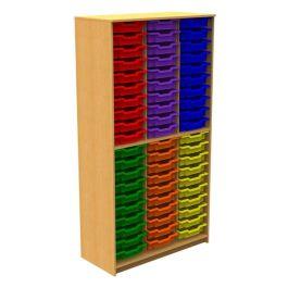 60 Shallow Tray Tall Storage Unit