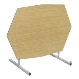 Octagonal Tilt Top Table with Duraform Edge