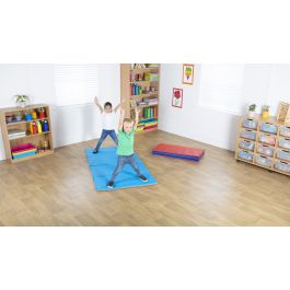 4 Section Folding Children's Tumble Mat - Pack of 5