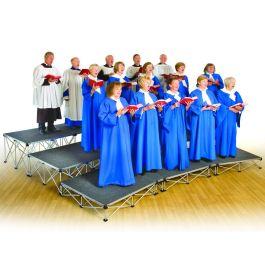 Gopak Ultralight Tiered Choir Stage Package 3