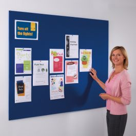 Frameless Felt Noticeboard