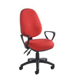 Vantage 100 2 Lever Operators Chair With Fixed Arms