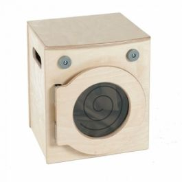 Wooden Toddler Role Play Washer