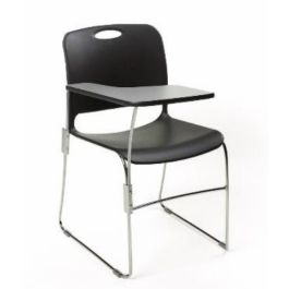 Maestro High Density Stacking Chair - Writing Tablet