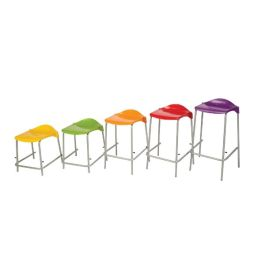 Metalliform WSM Lipped School Lab Stool