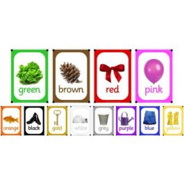 A4 Outdoor Learning Boards - Photo Colours