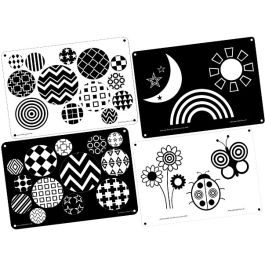 Black & White Outdoor Learning Boards