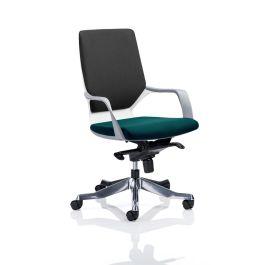 Xenon Executive White Shell Medium Back Chair