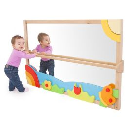 PlayScapes™ Large Pull Up & Play Toddler Mirror