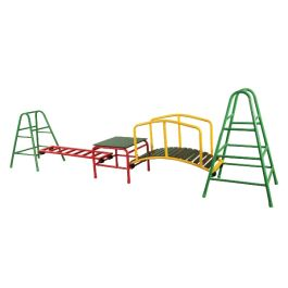 Outdoor Climbing Frame and Children's Gym - Set 4