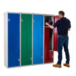 Z Door Lockers Steel Doors