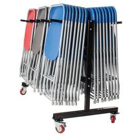 60 x Zlite Fan Back Chair & Hanging Trolley Bundle