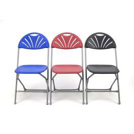 Zlite Fan Back Folding Chair