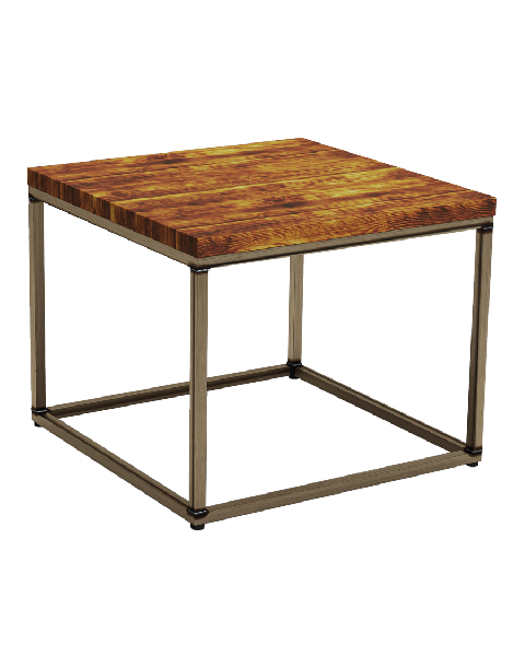 Byron Rustic Pine Square Coffee Table