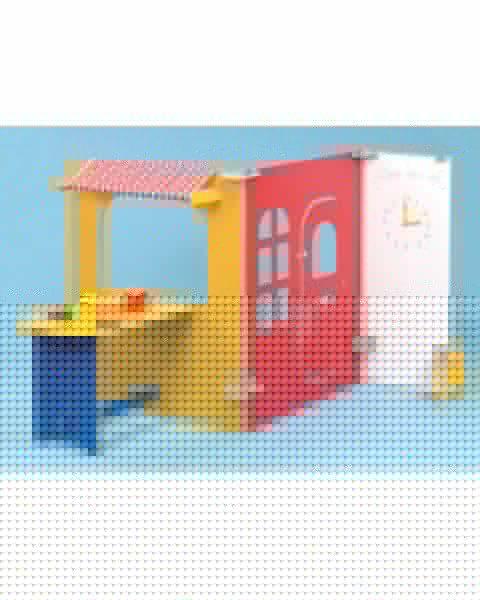 Cafe/Tea Room Role Play Panels - Multi Colour