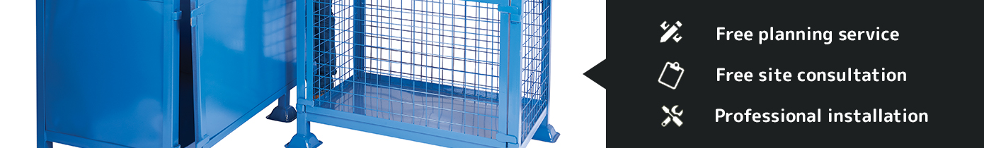 Industrial Cages and Roll Pallets